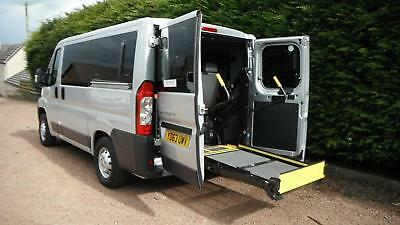 2014 Peugeot Boxer 2.2HDi 110 333 L1 H1 WHEELCHAIR ACCESS VEHICLE DISABLED LIFT