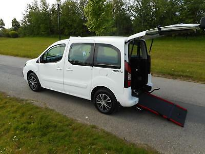 2016 Peugeot Partner Tepee 1.6 Hdi Automatic WHEELCHAIR ACCESSIBLE VEHICLE WAV