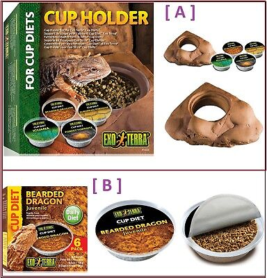 CUP HOLDER support de coupe / CUP DIET aliments pour reptiles - EXO TERRA - NEUF