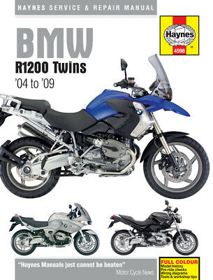 4598 Haynes BMW R1200 Twins 2004 - 2009 Workshop Manual