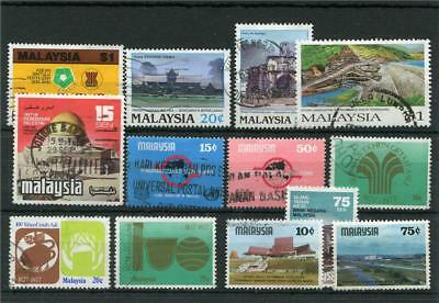 Malaysia 13 -- Recent Used Stamps On Stockcard