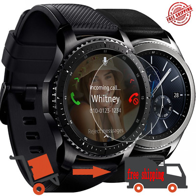 5X Full Coverage Tempered Glass Screen Protector Samsung Gear Sport / Gear S2 S4
