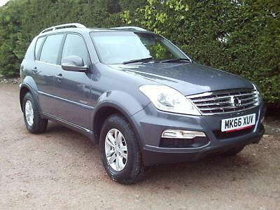 66 Ssangyong Rexton SE 2.2TD 4X4 Turbo Diesel Automatic 4WD 7 Seater