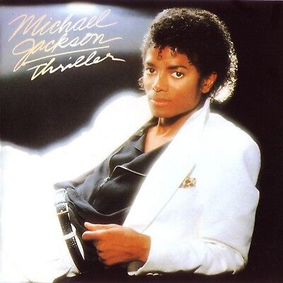 Michael Jackson 'thriller' 9 Track Cd Special Edition