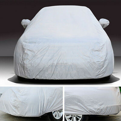 17ft SUV Full Car Cover Waterproof Snow Rain Resistant All Weather Protection