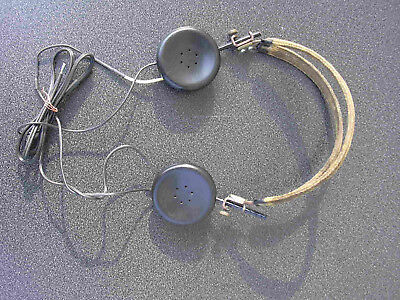 Ancien Casque Consolidated Radio Prod Co Type Hs-16-A