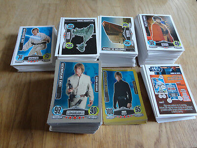 Force Attax Movie Collection Argentina Base Star Force Master 577 Cards RARE