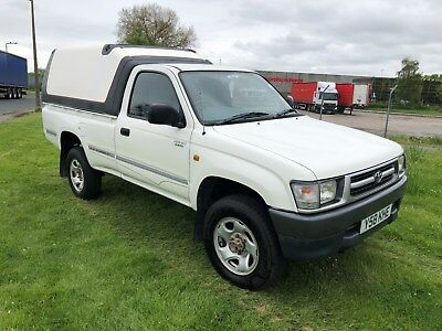 2001 Toyota Hilux 2.4Td Ex Single Cab Pickup-1 Owner From New-Very Good Conditin