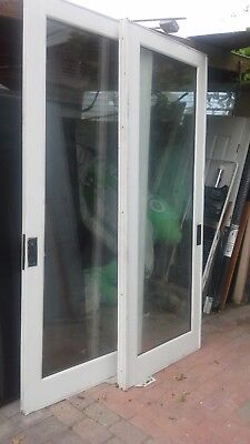 FRENCH DOORS 8 ft  for pocket set for 6 foot opening!