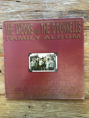Sexpistols Vinyl The Lydons and The O'Donnels Familiy Album SELTEN