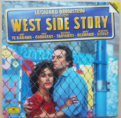West Side Story -Conducted by Leonard Bernstein 2 LP/ Record& Songbook