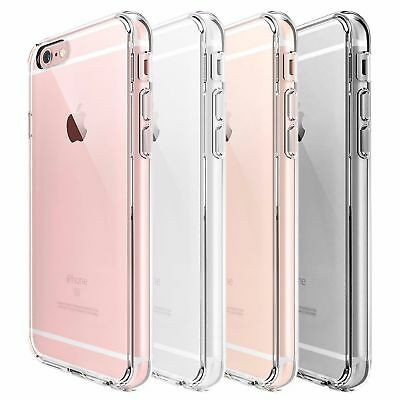 Silicone Clear Case Shockproof Protective Cover For iPhone 7