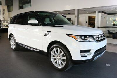Land Rover Range Rover Sport  2014 SUV Used Intercooled Supercharger Premium Unleaded V-6 3.0 L/183 Automatic