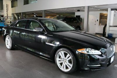 Jaguar XJ  2013 Sedan Used Gas V6 3.0L/183 8-Speed Automatic w/Manual Shift AWD Black