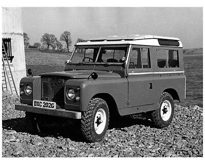 1969 Land Rover Series II 88 Station Wagon Factory Photo cb1042
