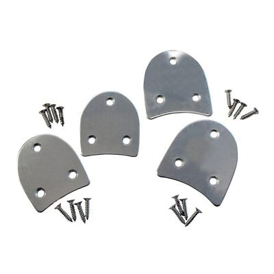 Tappers And Pointers Heel Tap Plates With Screws (Low Heel)