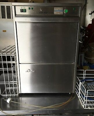 Glass Washer - 16 Pint glass capacity- 400mm Square Basket