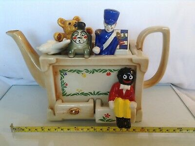 Cardew Large Collectable Novelty Teapot Toybox With Jolly Gent,great Condition