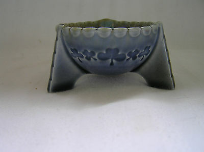 "Wade Ireland, Open Salt Dish, Footed Shamrocks, 3"" Across"