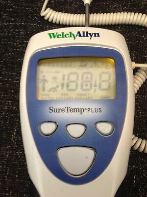Welch Allyn SureTemp PLUS Thermometer. Ideal for Hospitals/Clinics