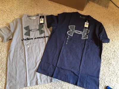Under Armour Mens T Shirts Lot Of 2 New Size Medium $50