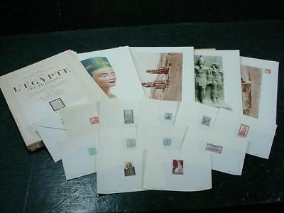 NobleSpirit NO RESERVE {3970}Helio Vaugirard Egypt Stamp Photo Proofs