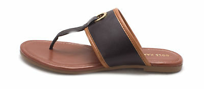 03209933f980 COLE HAAN WOMENS Punched Flip Flop Open Toe Casual