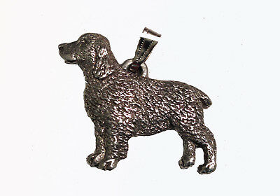 Springer Spaniel Pendant Dog Harris Fine Pewter Made in USA jewelry