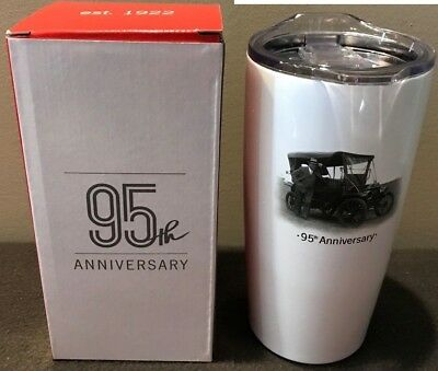 State Farm 95th Anniversary - Stainless Travel Tumbler - 20 oz. - NEW in Box!