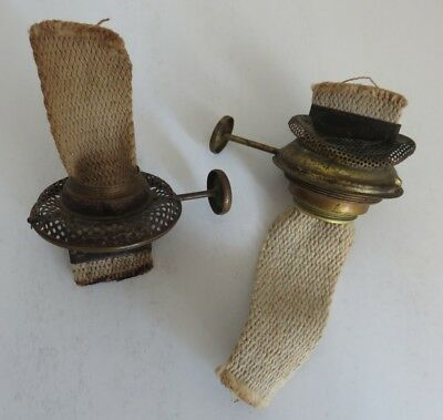 (2) Vintage Climax Oil Lamp Burners With Wick                (Inv17994)