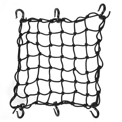 """15""""x15"""" Cargo Net with 6 Adjustable Hook Latex Bungee Material for Motorcycle"""