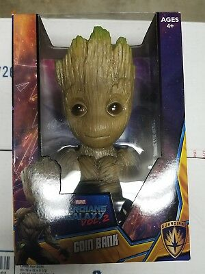 Marvel Guardians Of The Galaxy Vol 2 Baby Groot Piggy/ Coin Bank