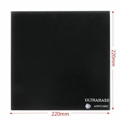 Anycubic Ultrabase 220x220mm HeatedBed 3D Printer Platform Surface Glass Plate