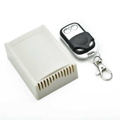 Universal Wireless Gate Garage Door Opener Remote Control Switch+Transmitter New