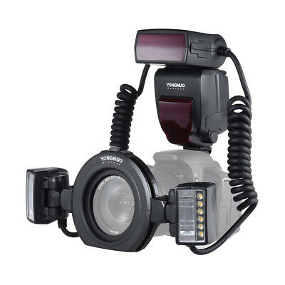 Yongnuo Yn24Ex E Ttl Macro Flash Speedlite For Canon With 2Pcs Flash Head And
