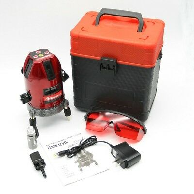 Professional Automatic Self Leveling 5 Line 6 Point 4V1H Laser Level Measure XD