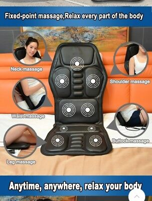 Heated massage office/home chair cushion vibration chair pad for home work car