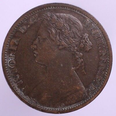 1874-H Great Britain Penny