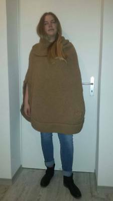 Gucci Vintage Poncho in alpaca from the 60's in perfect condition