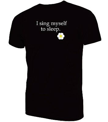 I Sing Myself To Sleep T-Shirt| James Sit Down Madchester Indie