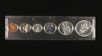 1965 Canada Complete Coin Set in Acrylic Holder