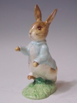 "Beatrix Potter ""Peter Rabbit"" Royal Albert 1989 Figurine Exc"