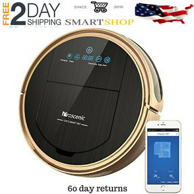 Robot Vacuum Cleaner Vacuum Cleaner Voice Control Visionary Map Water Tank 790T