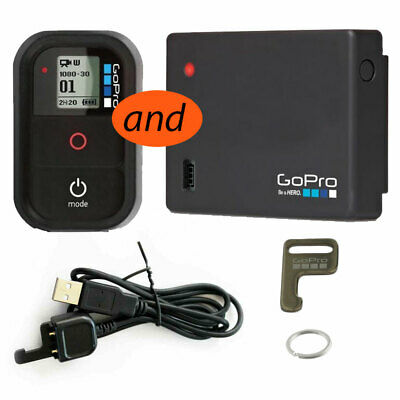 Genuine GoPro Wifi Remote, LCD Touch BacPac (ALCDB-301, YHD517L) & Battery Bonus