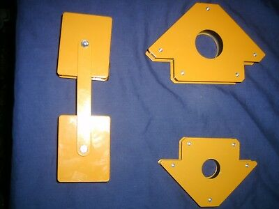 Set Of 4 Welding Magnets