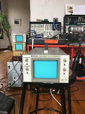 Leader LBO-51MA Display Xy Monitor Vector Rescan LZX, Tested by brownshoesonly