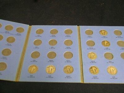 Partial Collection Standing Liberty Quarters        1925-1930           EA628