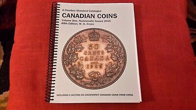 2015 CHARLTON CANADIAN COINS VOLUME ONE CATALOGUE 69th EDITION-BRAND NEW