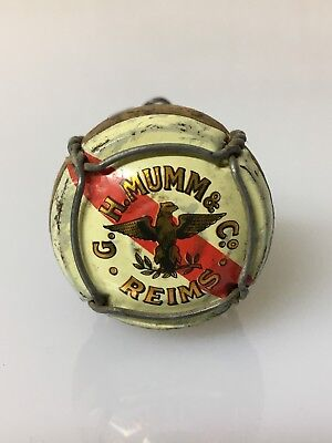 Capsula Champagne G. H. Mumm & Co. Reims. Vintage
