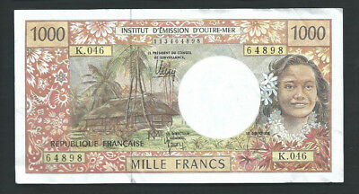French Pacific Territories 1996 1000 (1,000) Francs P 2k Circulated